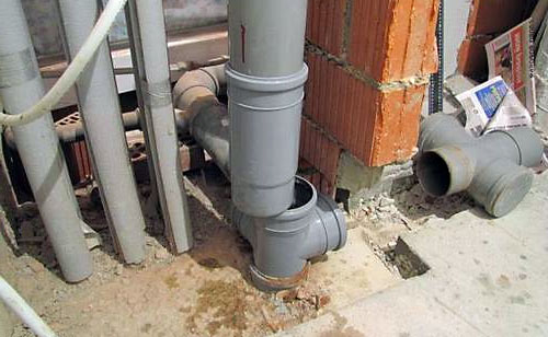 Стояк канализации в частном доме